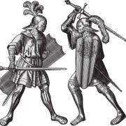 Link toRetro heraldry design vector 05