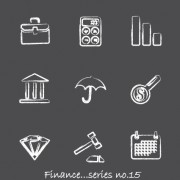 Link toVector icons sketch in pencil design elements 02