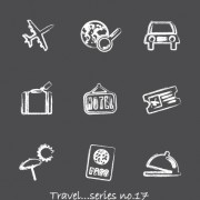 Link toVector icons sketch in pencil design elements 04