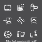 Link toVector icons sketch in pencil design elements 05
