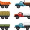 Different transport icon design vector set 01