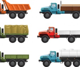 Different transport icon design vector set 01