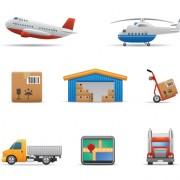 Link toDifferent transport icon design vector set 03