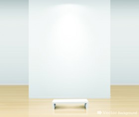 Vector of Interior Gallery backgrounds set 02