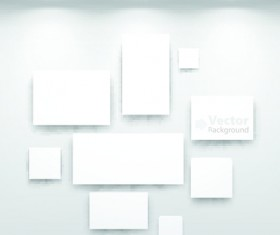 Vector of Interior Gallery backgrounds set 05