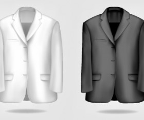Different Mens jacket design vector 03