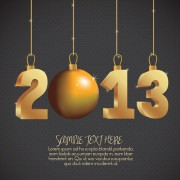 Link toVector set of creative new year 2013 design elements 01