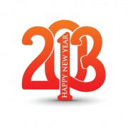 Link toVector set of creative new year 2013 design elements 02