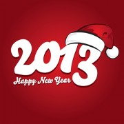 Link toVector set of creative new year 2013 design elements 05