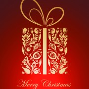 Link toOrnate red christmas backgrounds vector material 01