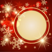 Link toOrnate red christmas backgrounds vector material 04