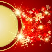 Link toOrnate red christmas backgrounds vector material 07