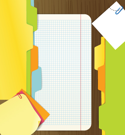 colored paper sheets background vector 02 free download