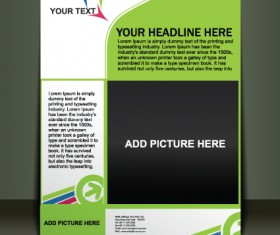 Vector template Presentation of flyer design 02