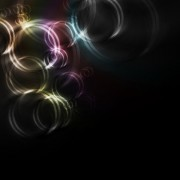 Link toRainbow with black background vector set 05