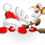 Link toAmusing christmas santa claus elements vector set 05