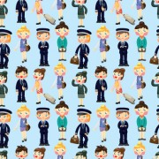 Link toCute seamless pattern design vector 05