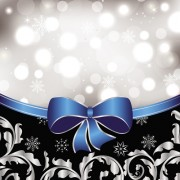 Link toShiny christmas backgrounds with bow design vector 01