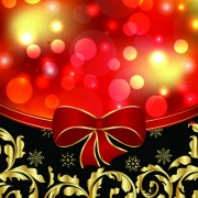 Link toShiny christmas backgrounds with bow design vector 02