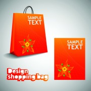 Link toVector set of creative shopping bags design elements 01