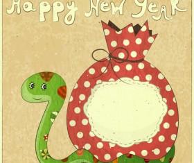 Snake 2013 Creative design vector material 03