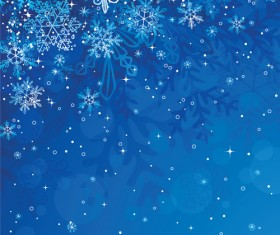 Winter Snowflake backgrounds art design vector 03
