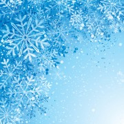 Link toWinter snowflake backgrounds art design vector 05