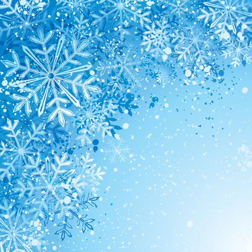 winter snowflake backgrounds art design vector   over millions, Powerpoint