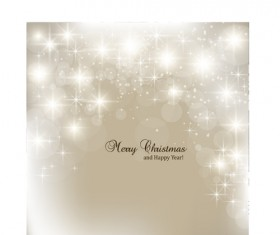 Vector set of Sparkling Christmas backgrounds art 01