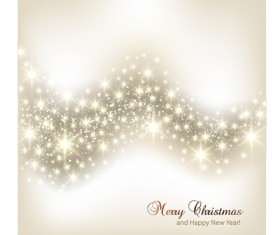 Vector set of Sparkling Christmas backgrounds art 07