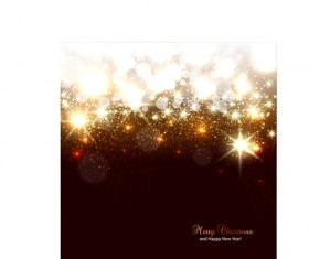 Vector set of Sparkling Christmas backgrounds art 09