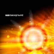Link toVector set of orange sunlight background art 04