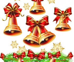 Set of Vintage Christmas and New Year 2013 decor Illustration Vector 01