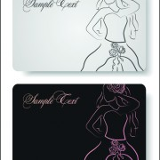 Link toElements of hand drawn visiting card vector 01