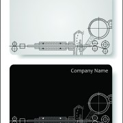 Link toElements of hand drawn visiting card vector 03