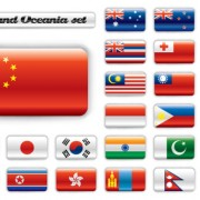 Link toSet of world flags icons mix design vector 03