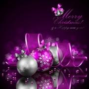 Link toOrnate xmas balls decorations design vector set 01