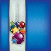 Link toOrnate xmas balls decorations design vector set 04
