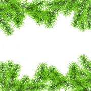 Link toSet of christmas needles frames vector material 03