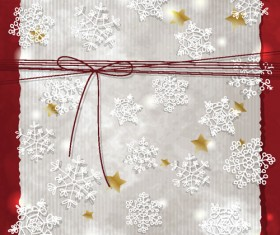 Christmas backgrounds with light dot vector set 01