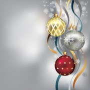 Link toBrilliant xmas balls ornaments design vector set 01