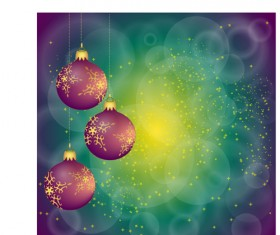 Brilliant Xmas balls ornaments design vector set 08