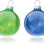 Link toOrnate xmas balls ornaments elements vector material 11