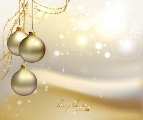 ornate Xmas balls Ornaments elements vector material 13