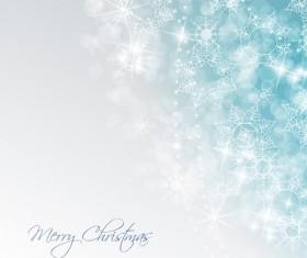 Shiny Xmas Winter Snowflake background vector 03