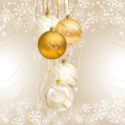 Link toSet of brilliant xmas background vector art 06