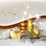 Link toSet of brilliant xmas background vector art 10