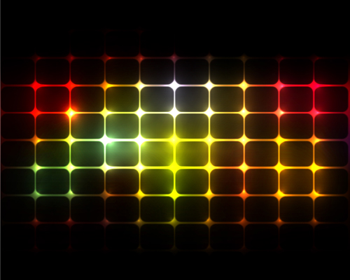 Abstract Light lines background design vector 01