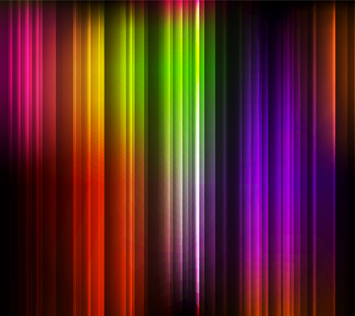 Abstract Light lines background design vector 03
