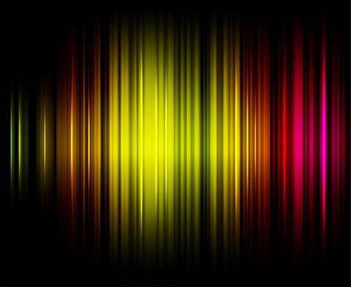 Abstract Light lines background design vector 05